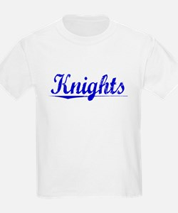 Knights, Blue, Aged T-Shirt