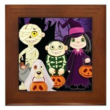 TRICK-OR-TREAT Framed Tile