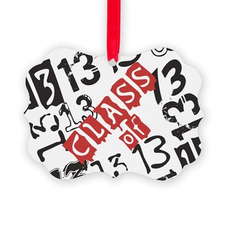 Mosaic Class of 2013 Picture Ornament