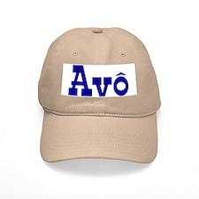 Avo Baseball Cap (White or Khaki)