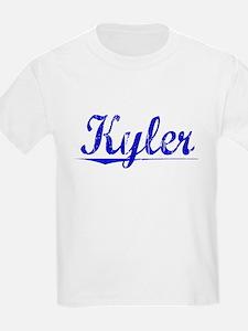 Kyler, Blue, Aged T-Shirt