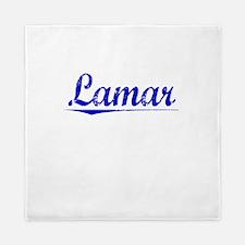 Lamar, Blue, Aged Queen Duvet