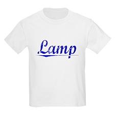 Lamp, Blue, Aged T-Shirt