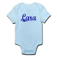 Lara, Blue, Aged Infant Bodysuit
