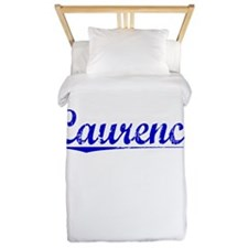 Laurence, Blue, Aged Twin Duvet