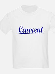 Laurent, Blue, Aged T-Shirt