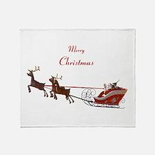 Santa Claus Throw Blanket