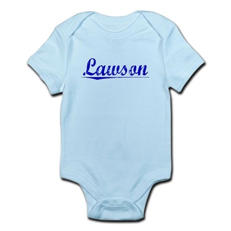 Lawson, Blue, Aged Infant Bodysuit