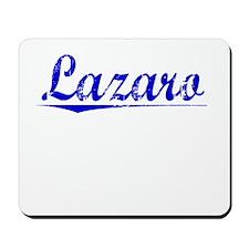 Lazaro, Blue, Aged Mousepad