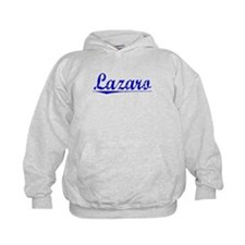 Lazaro, Blue, Aged Hoodie