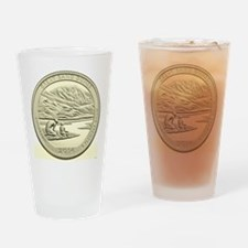 Colorado Quarter 2014 Basic Drinking Glass