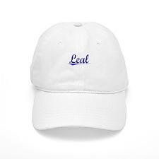 Leal, Blue, Aged Baseball Cap