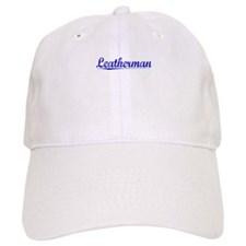 Leatherman, Blue, Aged Baseball Cap
