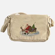 Santa is coming Messenger Bag