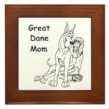 C GD Mom Framed Tile