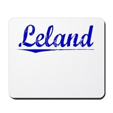 Leland, Blue, Aged Mousepad