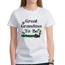 Great Grandma To Be Gardener Tee