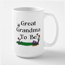 Great Grandma To Be Gardener Mug