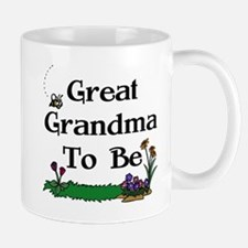 Great Grandma To Be Gardener Mug