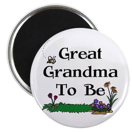 Great Grandma To Be Gardener Magnet