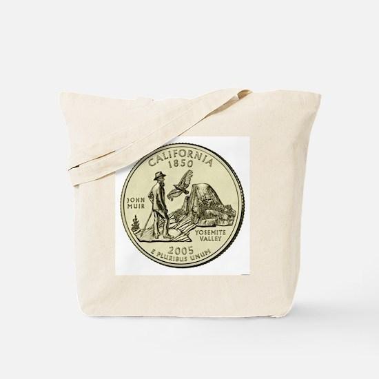 California Quarter 2005 Basic Tote Bag