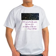 Wilde-in the gutter Ash Grey T-Shirt
