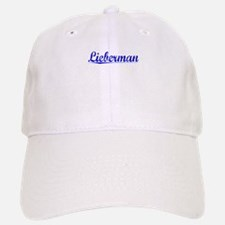Lieberman, Blue, Aged Baseball Baseball Cap