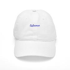Lieberman, Blue, Aged Baseball Cap