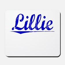 Lillie, Blue, Aged Mousepad