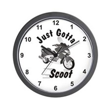 Just Gotta Scoot Xciting Wall Clock