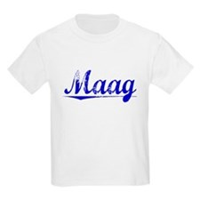 Maag, Blue, Aged T-Shirt