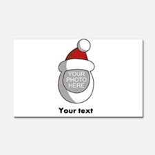 Personalized Santa Christmas Car Magnet 20 x 12