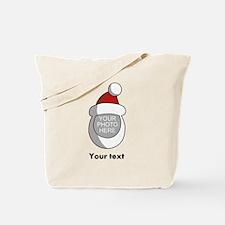 Personalized Santa Christmas Tote Bag