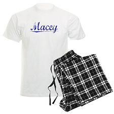 Macey, Blue, Aged pajamas