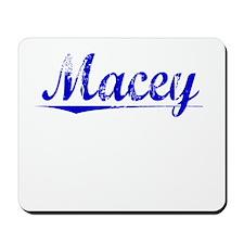 Macey, Blue, Aged Mousepad