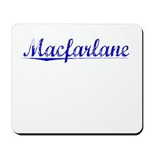 Macfarlane, Blue, Aged Mousepad