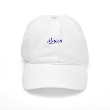 Macon, Blue, Aged Baseball Cap