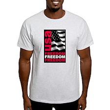 """""""Freedom"""" Ash Grey T-Shirt"""