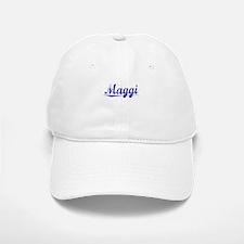 Maggi, Blue, Aged Baseball Baseball Cap