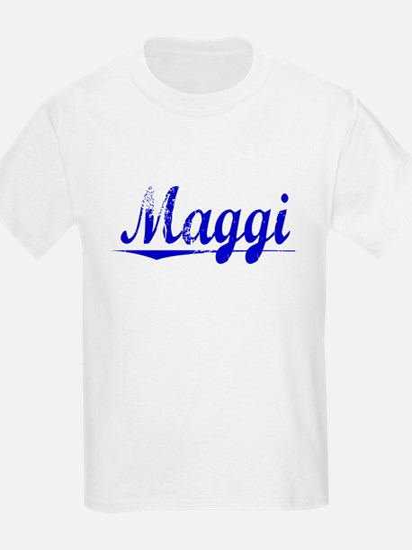 Maggi, Blue, Aged T-Shirt