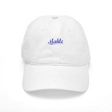Mahle, Blue, Aged Baseball Cap