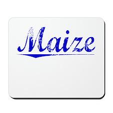 Maize, Blue, Aged Mousepad
