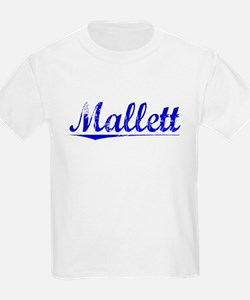 Mallett, Blue, Aged T-Shirt