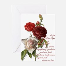 galatians 5 22 23 Greeting Cards
