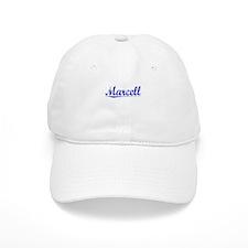 Marcell, Blue, Aged Baseball Cap