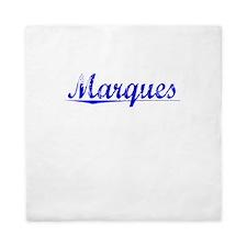 Marques, Blue, Aged Queen Duvet
