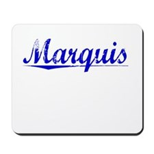 Marquis, Blue, Aged Mousepad