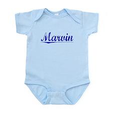 Marvin, Blue, Aged Infant Bodysuit