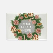 Personalized Christmas Rectangle Magnet
