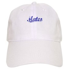 Mateo, Blue, Aged Baseball Cap